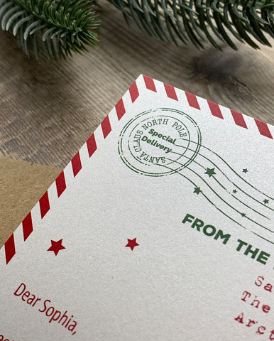 Personalised Invite to See Santa
