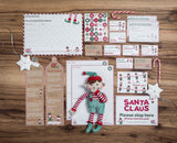 Boy Christmas Elf Toy & Magical Reward Kit