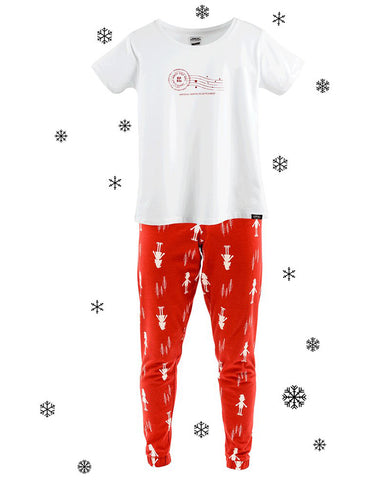 Men's & Women's Adult Christmas Elf Pyjamas