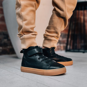 Brooklyn Black Toddler Boots