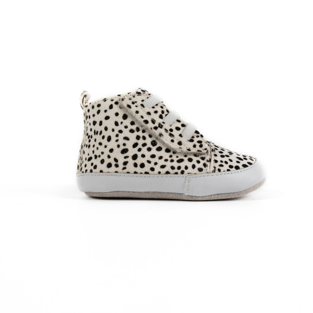 Brooklyn Prewalker Baby Shoes- Snow Leopard