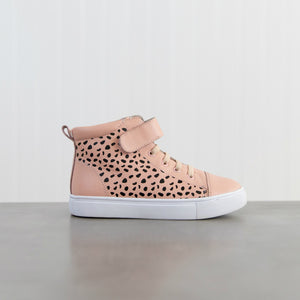 Brooklyn Dusty Pink Ocelot - HARD SOLE