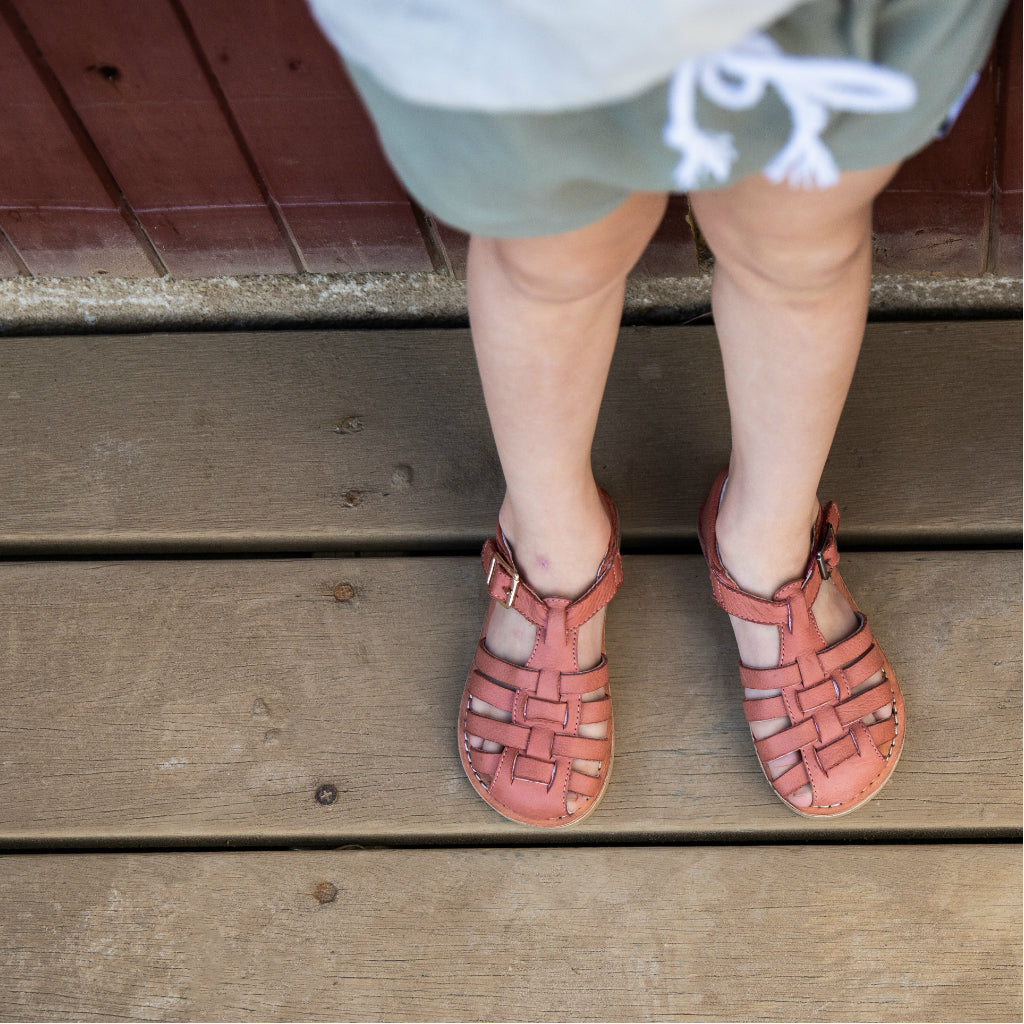 Roma Terracotta Toddler Kids Sandal