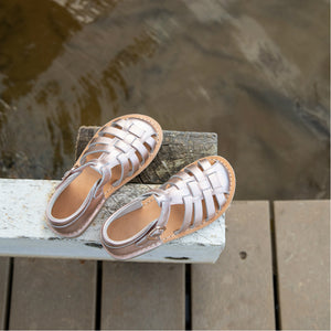 Roma Rose Gold Toddler Kids Sandal