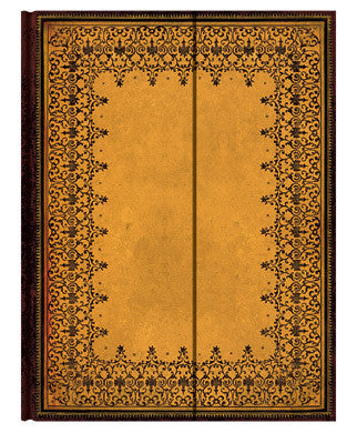 Old Leather Embossed Lined Journal
