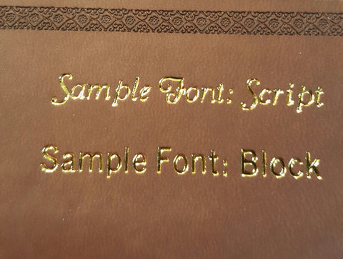Super Giant Print Family Reference Bible, Brown with Cross- NKJV