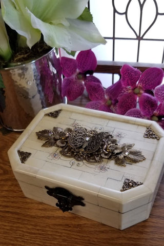 Butterfly Bone Keepsake Box