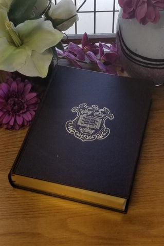 KJV BIBLE: 400TH ANNIVERSARY EDITION GENUINE LEATHER BURGUNDY