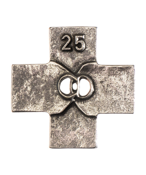 25th Anniversary Covenant Silver-Nickel Finish Cross