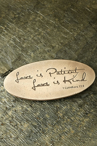 Love is Patient, Love is Kind Plaque