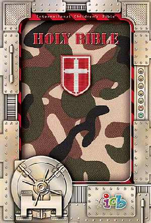Green Camo Compact Kids Bible