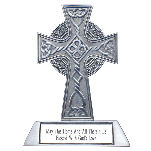 ON SALE Celtic House Blessing Cross 40% OFF
