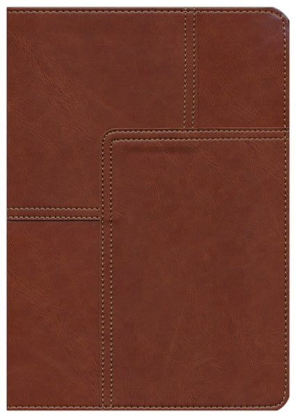 Life Application Study Bible NLT Study Bible 2nd Edition Soft Imitation Leather Midtown Brown Indexed