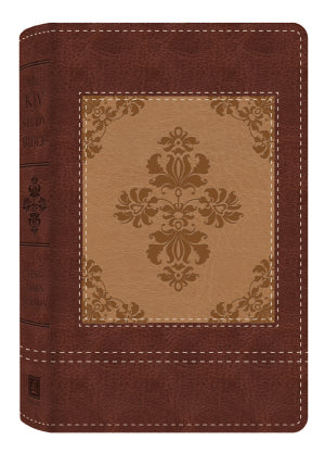 KJV Study Bible: Heritage Edition-Brown/Cream DiCarta