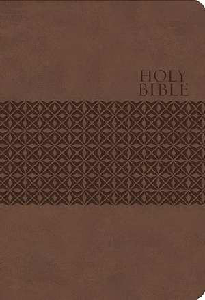 KJV Large Print Study Bible-Earth Brown