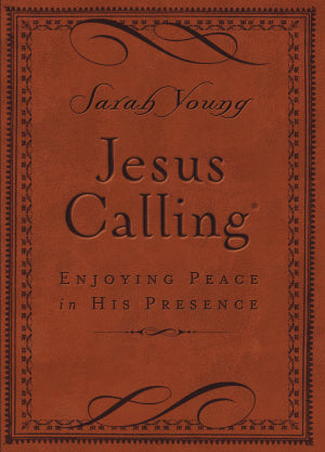 Jesus Calling Devotional Edition - Caramel Brown