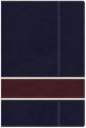 Military Families Bible-CSB-Navy/Red
