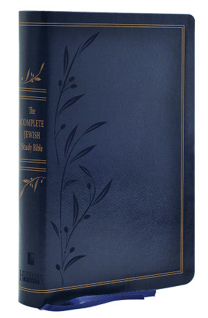 The Complete Jewish Study Bible, Dark Blue