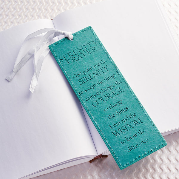 Serenity Prayer Luxleather Bookmark Limited Quantities Available