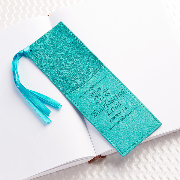Everlasting Love Luxleather Bookmark
