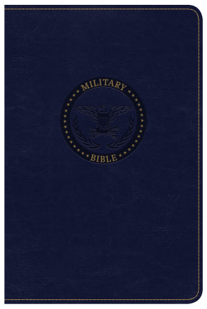 Sailor's Military Compact Bible -CSB  Color Navy
