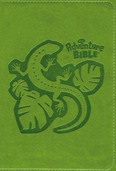 NIrV Adventure Bible For Early Readers (Full Color)-Green DuoTone