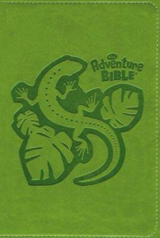 NirV Adventure Bible for Early Readers, Italian Duo-Tone, Jungle Green