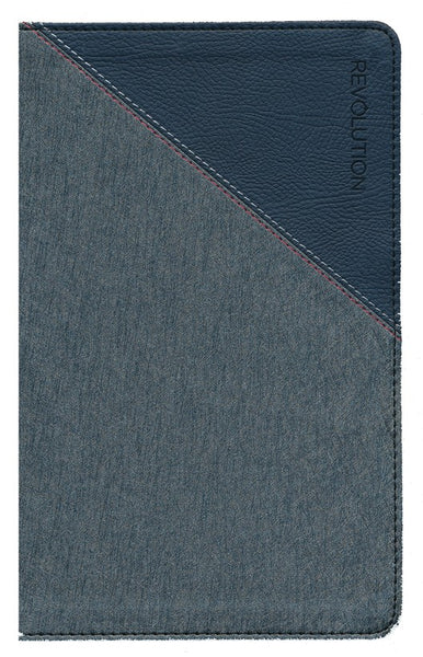 NIV, Revolution Bible: The Study Bible for Teen Guys, Gray and Navy