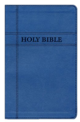 NIV Gift Bible (Comfort Print) - Navy Leathersoft