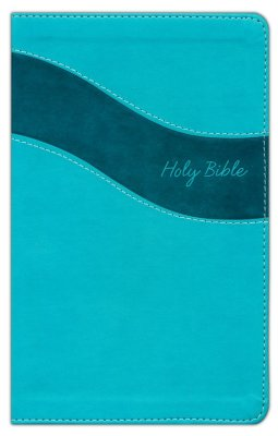 NIV Gift Bible (Comfort Print) - Turquoise Leathersoft-2 Choices-Indexed or Non-Indexed