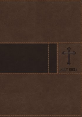 NIV Premium Gift Bible (Comfort Print) ~ Leathersoft Brown~Indexed and Non-Indexed