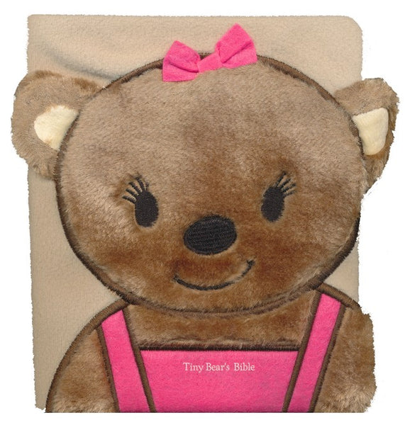 Tiny Bears Bible-Pink