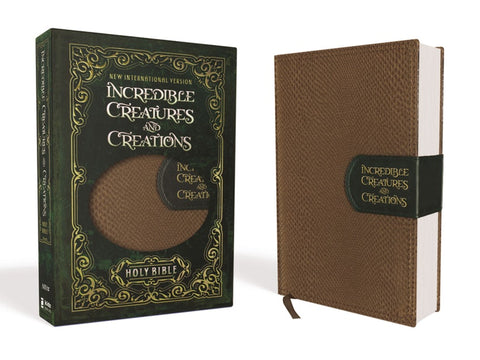 NIV Incredible Creatures and Creations Holy Bible, Imitation Leather