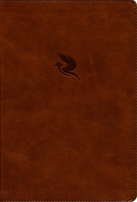 NKJV Spirit-Filled Life Bible (Third Edition) -Brown Leathersoft  with Dove