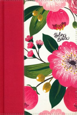 NKJV Woman's Study Bible (Full Color)-Floral hardcover Indexed