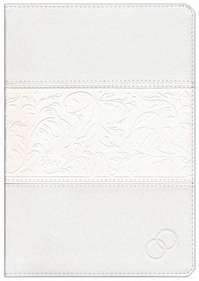 Span-RVR 1960 Love Languages Devotional Bible-White Duotone Indexed