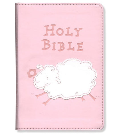 Pink Really Woolly Holy Bible - ICB