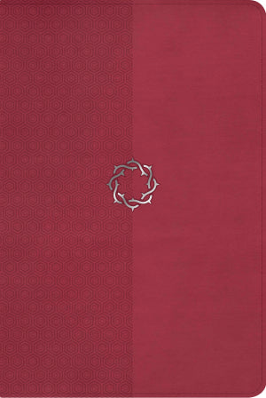 NKJV Essential Teen Study Bible, Rose LeatherSoft