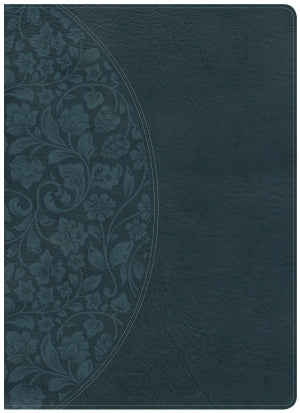Holman Study Bible: NKJV Large Print Edition, Dark Teal LeatherTouch