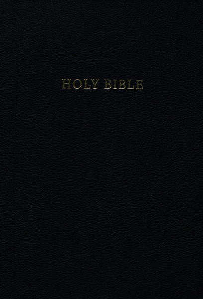 CSB Pulpit Bible, Black Genuine Leather