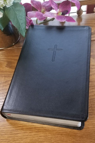 KJV Everyday Large Print Study Bible, Charcoal