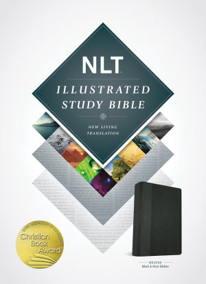 NLT Illustrated Study Bible - Black