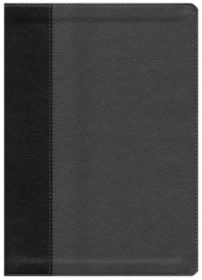 Every Man's Personalized Bible NIV, Large Print, TuTone Black/Onyx