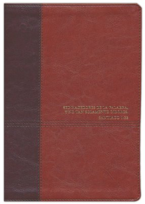 Biblia de estudio del diario vivir RVR60, Tan With thumb index
