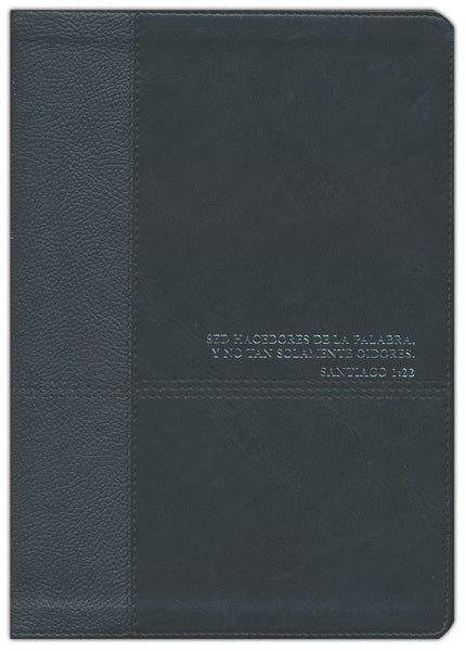 Biblia de estudio del diario vivir RVR60, Onyx, With thumb index