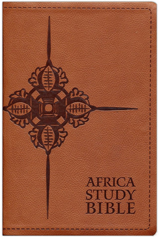 NLT Africa Study Bible Soft Imitation Leather Brown