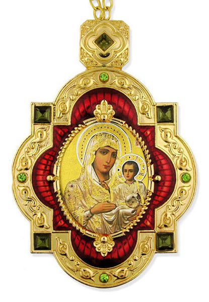 Virgin of Jerusalem Icon Ornament