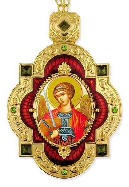 Saint Michael Jeweled Icon Ornament