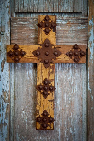 Arroyo Wooden Concho Cross