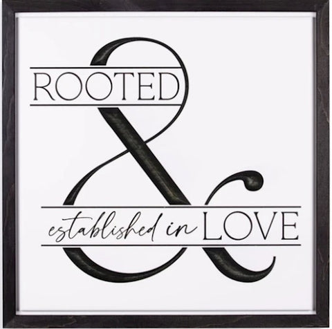 New & Carved-Rooted In Love